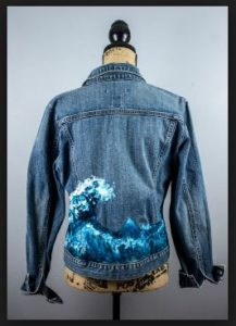 Handpainted Denim
