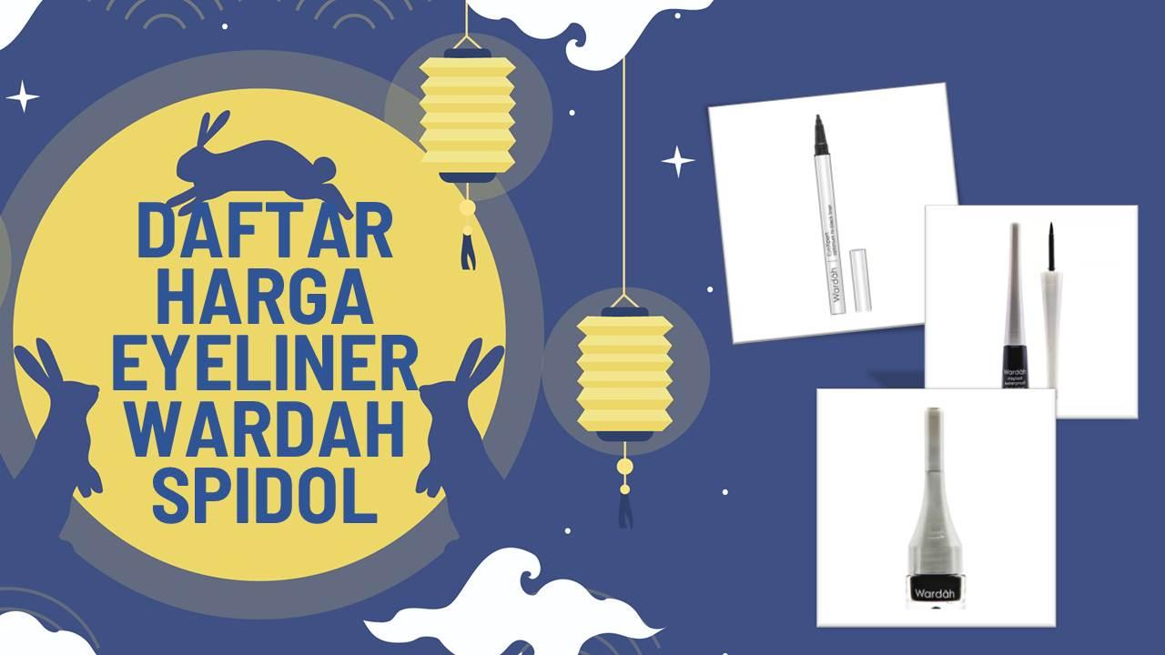 Daftar harga eyeliner wardah spidol