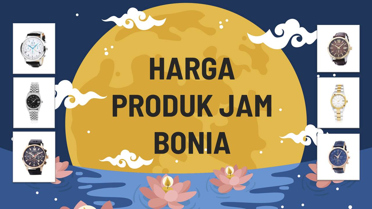 Daftar Harga Jam Bonia