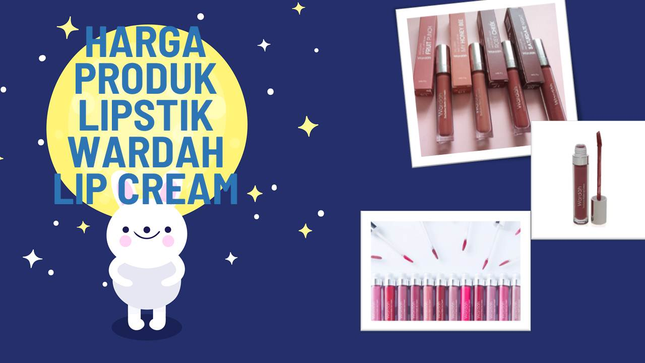 List Harga Lipstik Wardah Lip Cream