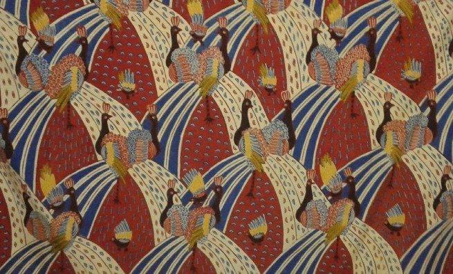 Batik Motif Priyangan Merak Ngibing