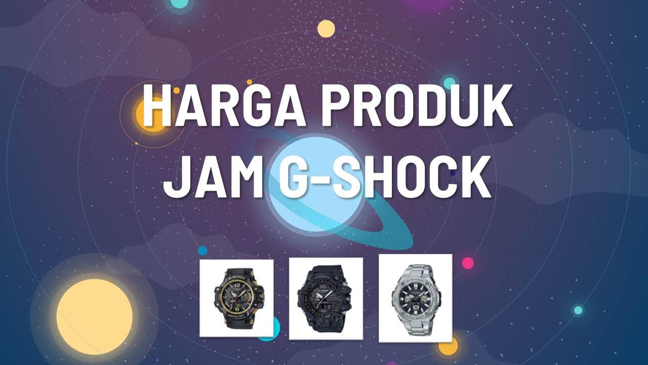 Katalog Harga Jam G-Shock