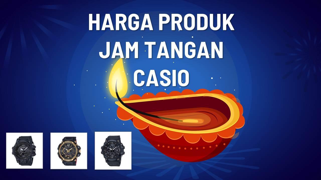 Katalog Harga Jam Tangan Casio