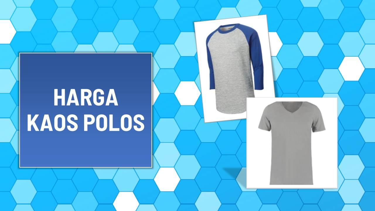 Daftar Harga Kaos Polos Terbaru