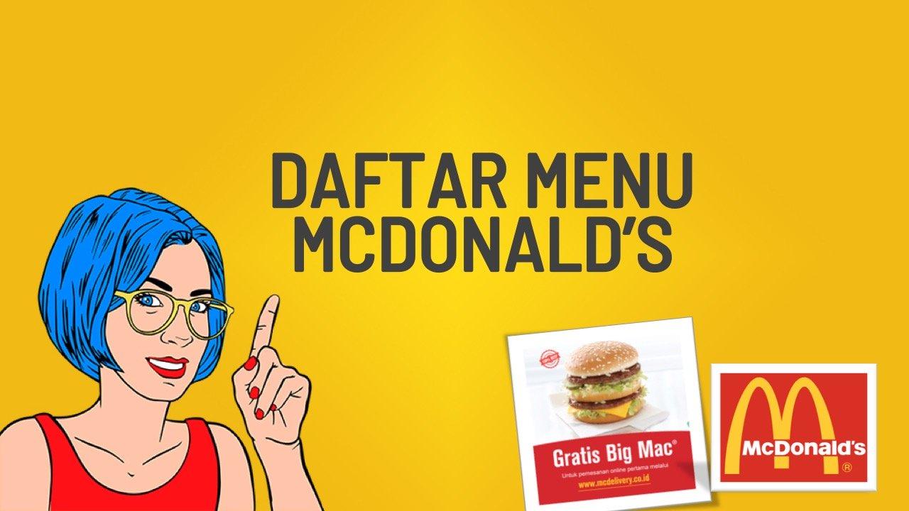 harga-menu-mcd