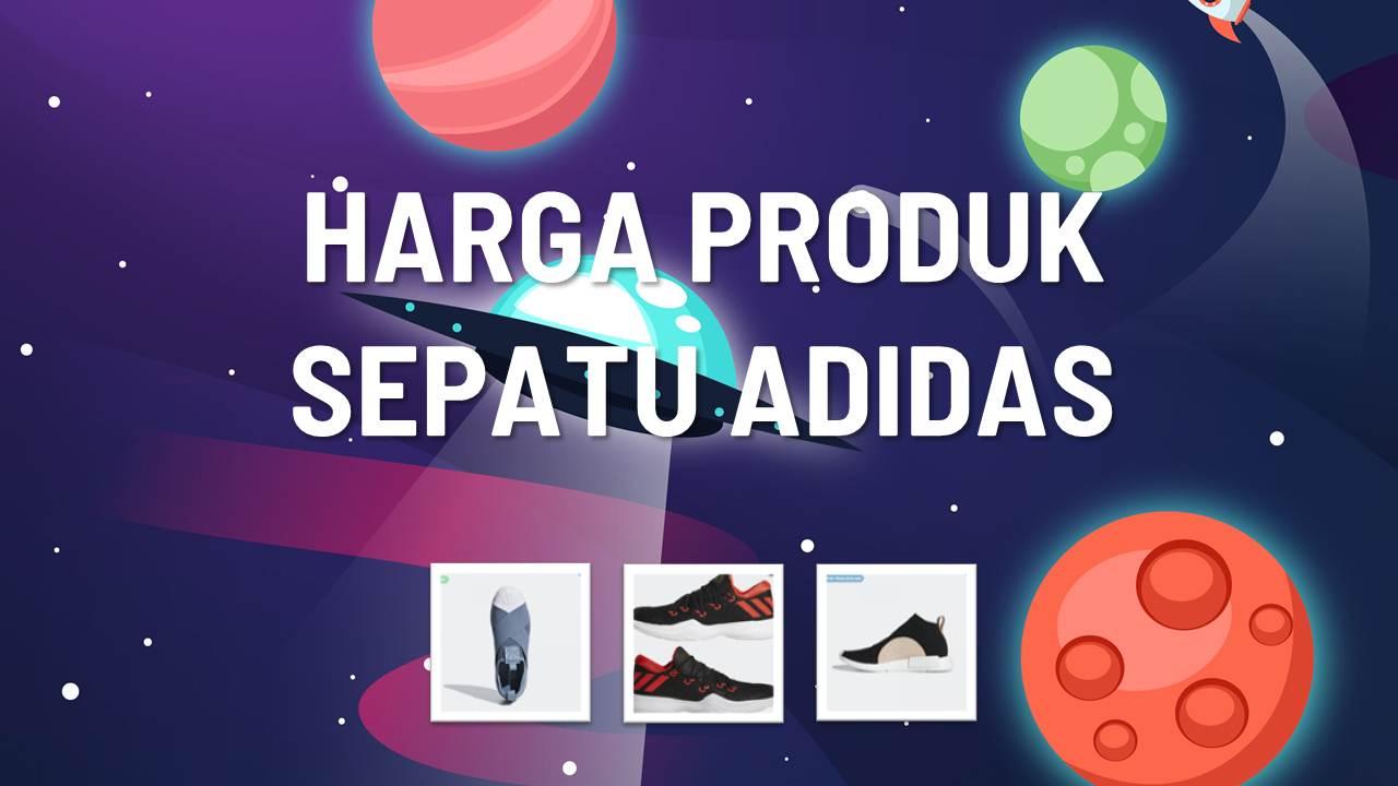 Daftar Harga Sepatu Adidas 2018