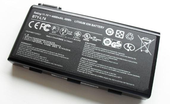 Baterai Laptop Lithium Ion Li-Ion