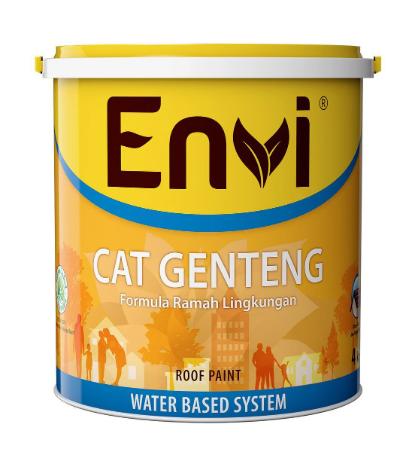 Cat Genteng Envi