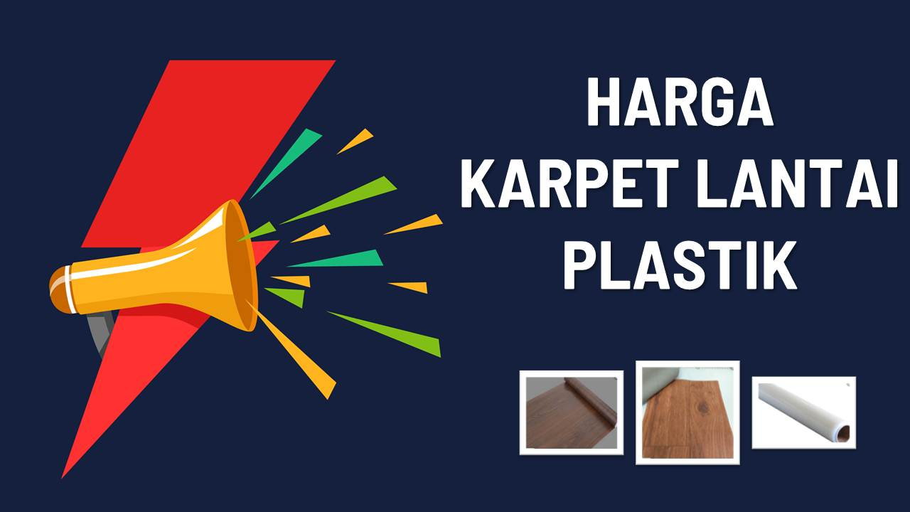List Harga Karpet Lantai Plastik