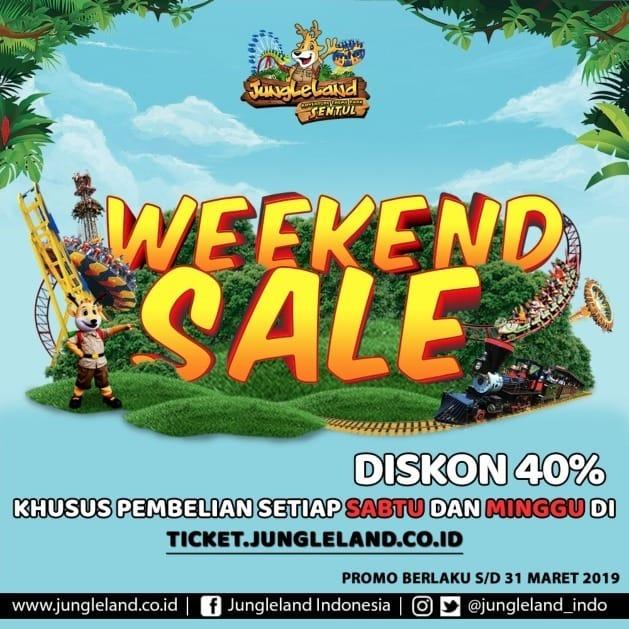 Harga Promo Tiket Jungleland 2019 Sabtu Minggu