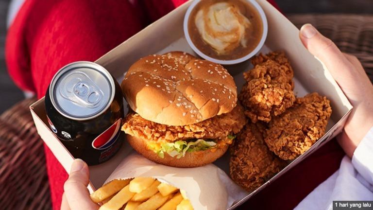 Harga Menu KFC Terbaru