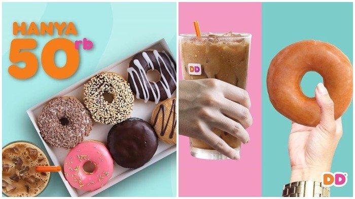 Kelebihan Dunkin Donut yang Terjangkau tribunnews.com