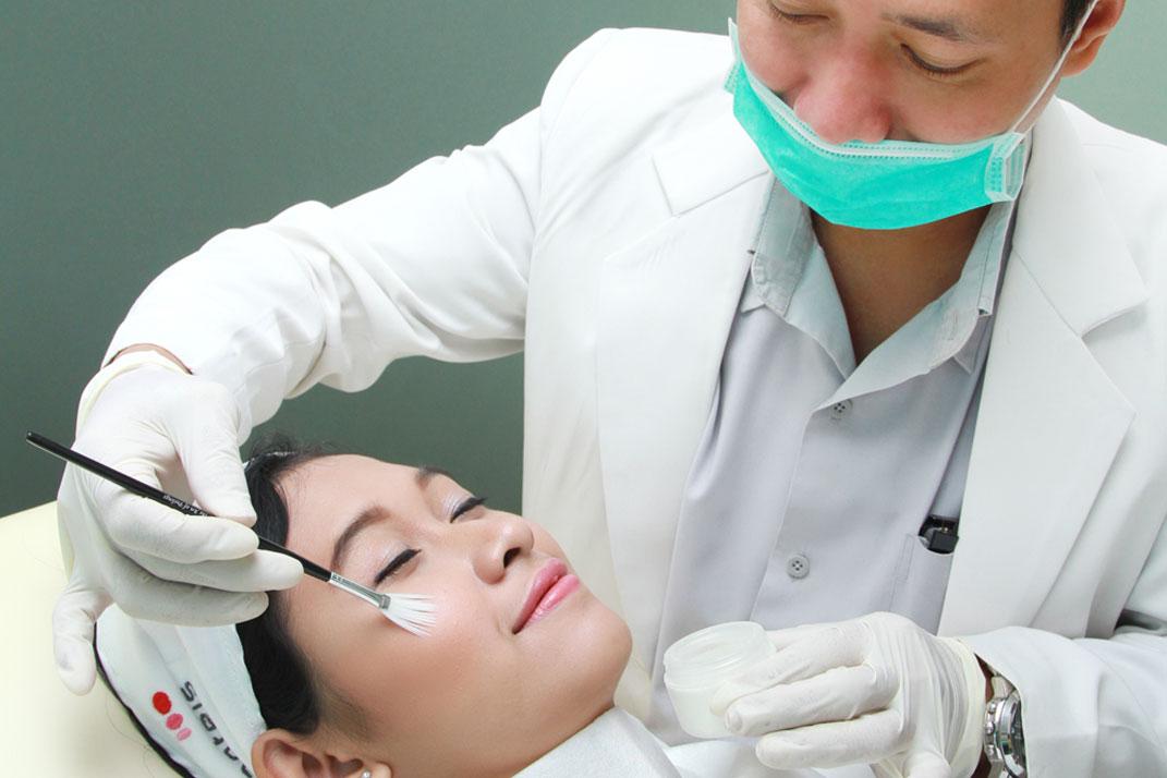 Proses Treatment di Natasha Skin Care rima angel.com
