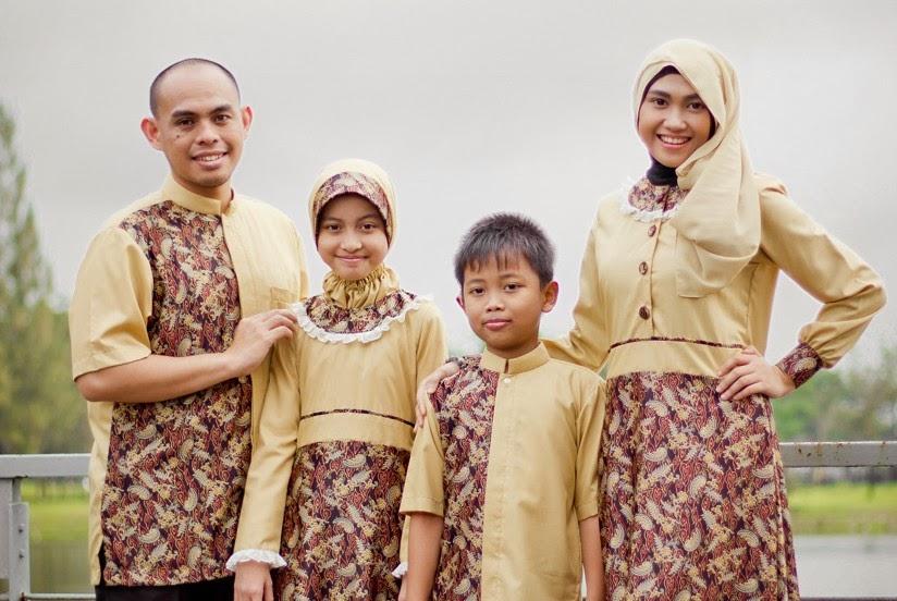 Baju Lebaran Keluarga Model Batik magazine.job like.com