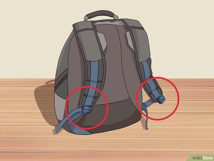 Cari tas yang menggunakan dua tali untuk menopang
