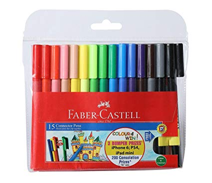 Gambar Connector Pen Faber Castell amazon.in
