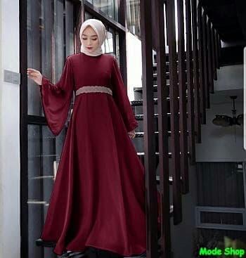 Gambar Gamis Masa Kini tokopedia.com