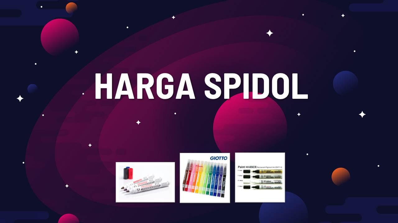 Harga Spidol