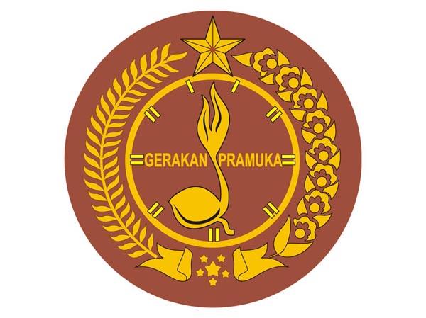 Logo pelantikan pramuka Indonesia untuk wanita tumpi.id