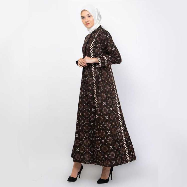 Model Gamis Batik yourhijabstyle.blogspot.com