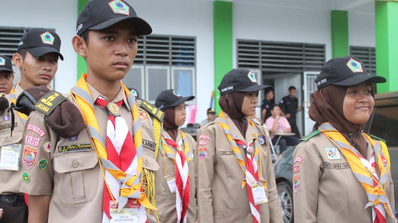 Pramuka penegak dari anak SMA cikalscoutindonesia.id