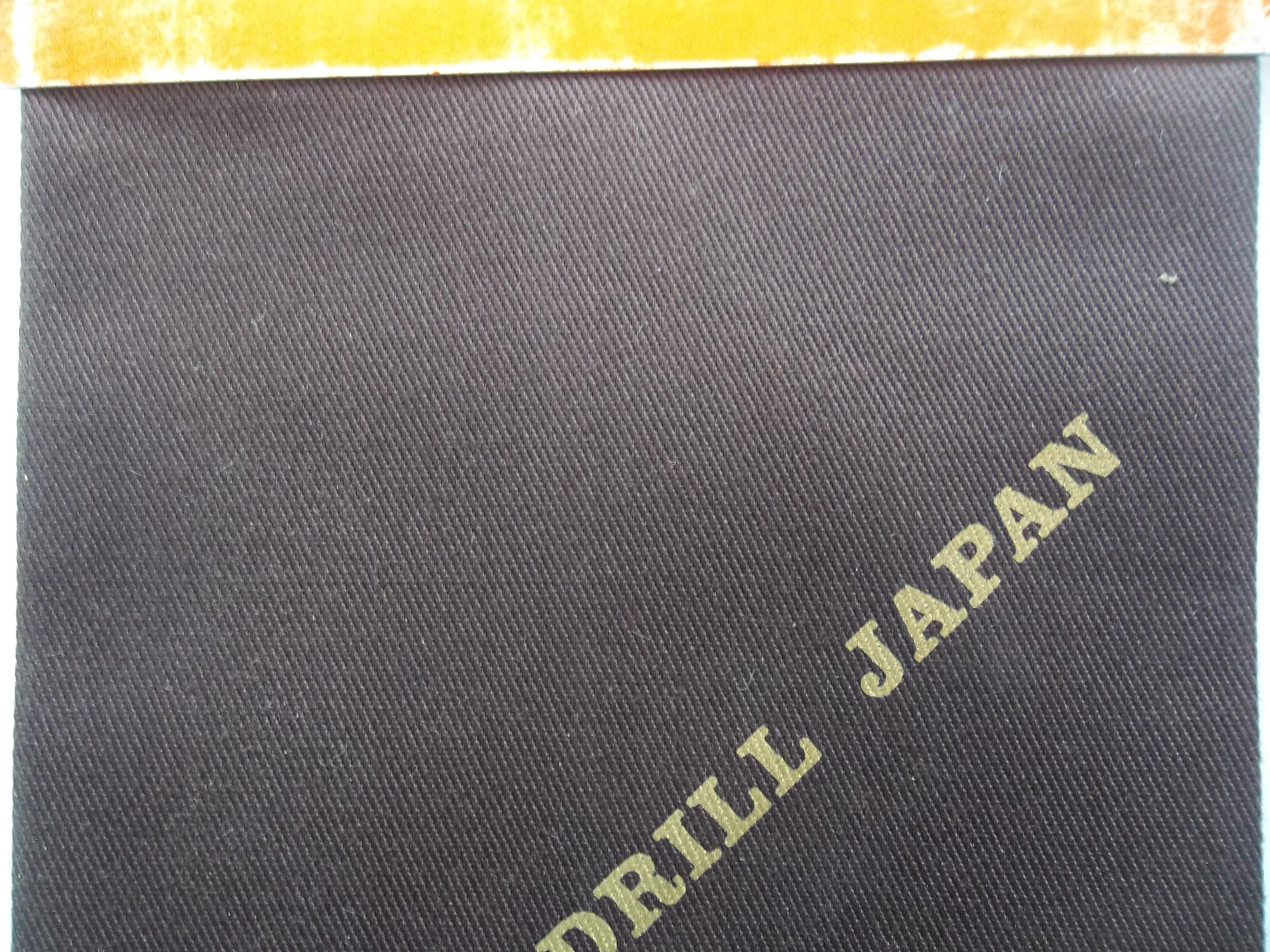 karakteristik bahan kain japan drill