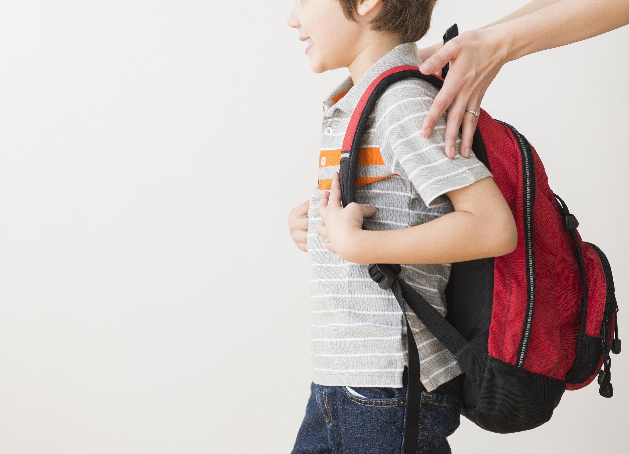 pilih tas yang menjaga postur tubuh anak prelo.com