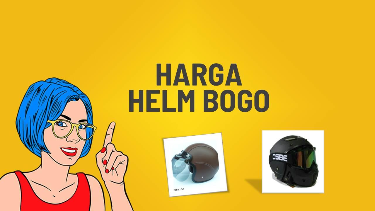harga helm bogo