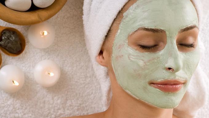 masker spirulina membersihkan kulit