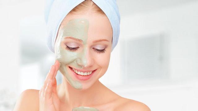 masker spirulina mencegah kulit kemerahan
